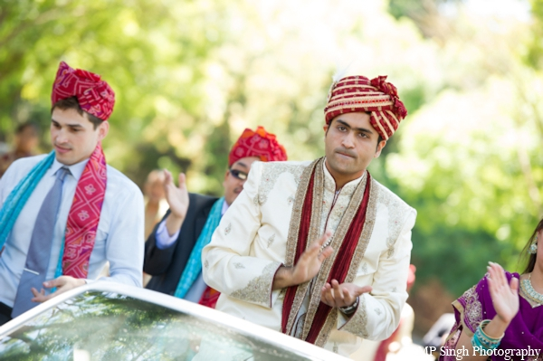 Indian-wedding-groom-baraat-outdoors-celebration
