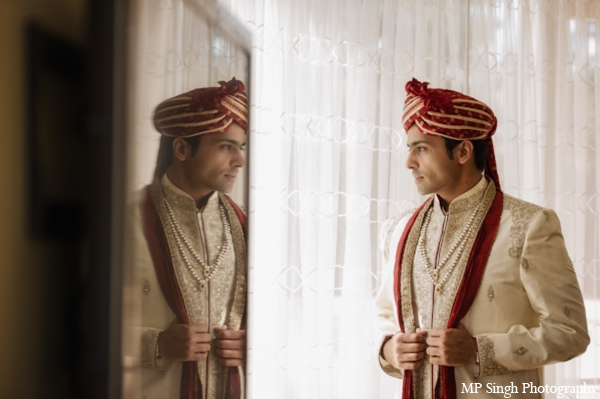 Indian-wedding-groom-getting-ready-before-ceremony