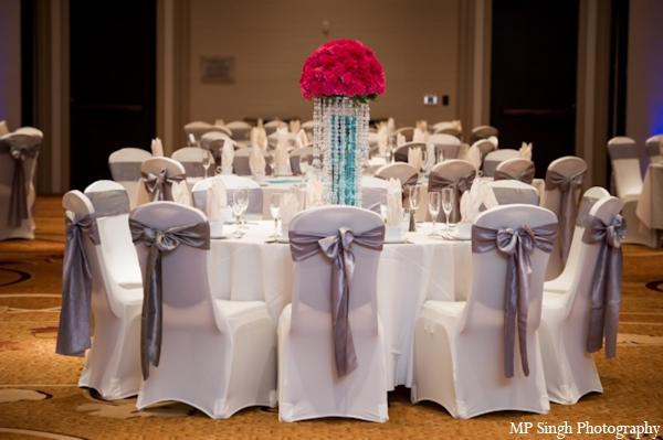 Indian-wedding-reception-white-table-cloth-chairs