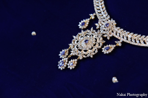 Indian wedding jewelry set in Itasca, Illinois Indian Wedding by Nakai Photography