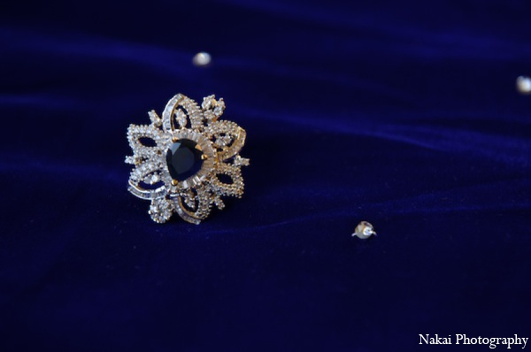 Indian wedding bridal jewelry in Itasca, Illinois Indian Wedding by Nakai Photography