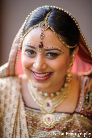 indian wedding bride hair makeup