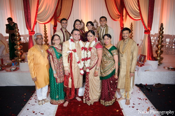 Indian wedding ceremony in Itasca, Illinois Indian Wedding by Nakai Photography