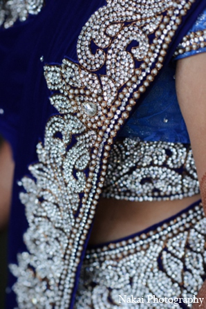 Indian wedding choli in Itasca, Illinois Indian Wedding by Nakai Photography
