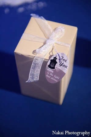 Indian wedding favors in Itasca, Illinois Indian Wedding by Nakai Photography