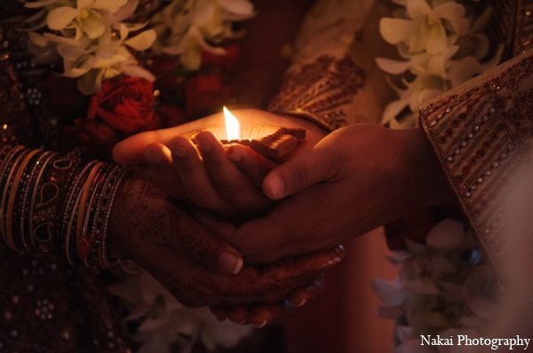 Indian wedding fire ceremony in Itasca, Illinois Indian Wedding by Nakai Photography