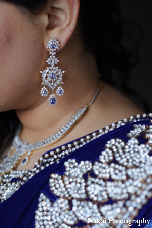 Indian wedding jewelry in Itasca, Illinois Indian Wedding by Nakai Photography
