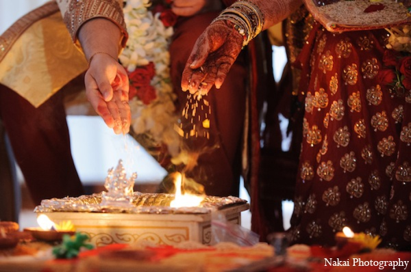 Featured Indian Weddings,red,gold,white,traditional indian wedding,indian wedding traditions