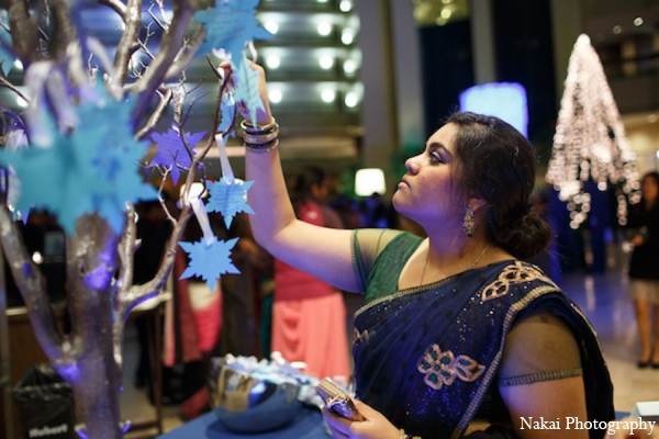Indian wedding wishing tree in Itasca, Illinois Indian Wedding by Nakai Photography
