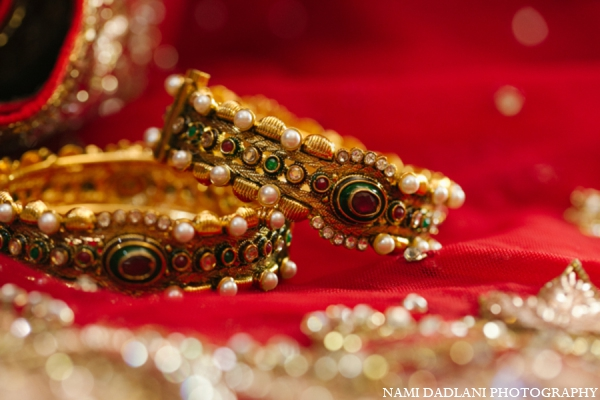 Indian wedding bridal bangles in Coral Springs, Florida Indian Wedding by Nami Dadlani Photography