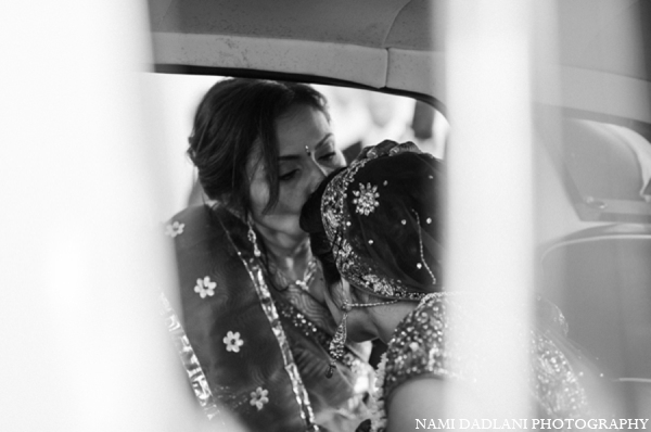 Indian wedding bride car in Coral Springs, Florida Indian Wedding by Nami Dadlani Photography