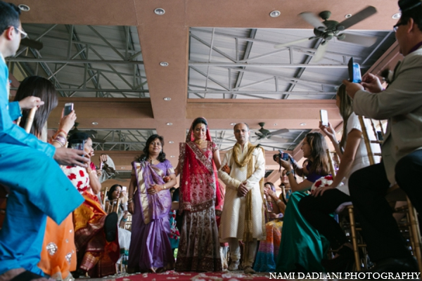 Indian wedding bride in Coral Springs, Florida Indian Wedding by Nami Dadlani Photography