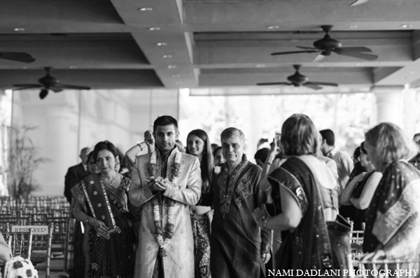 Indian wedding ceremony bride groom in Coral Springs, Florida Indian Wedding by Nami Dadlani Photography