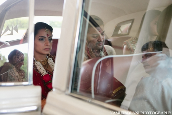 Indian wedding ceremony transportation in Coral Springs, Florida Indian Wedding by Nami Dadlani Photography