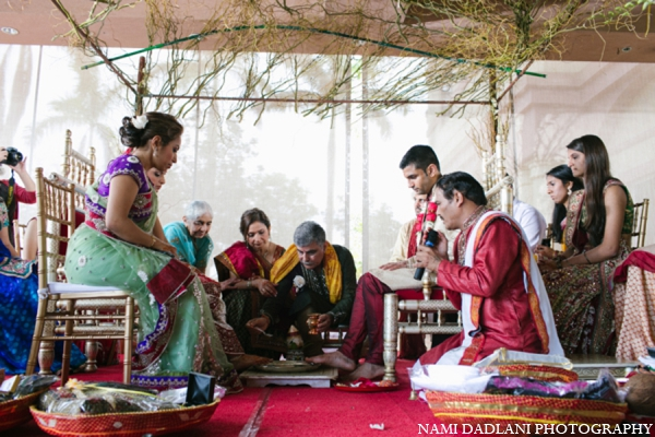 Indian wedding customs rituals in Coral Springs, Florida Indian Wedding by Nami Dadlani Photography