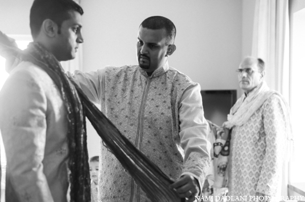 Indian wedding fashion groom in Coral Springs, Florida Indian Wedding by Nami Dadlani Photography