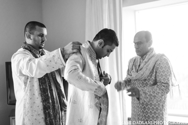 Indian wedding groom in Coral Springs, Florida Indian Wedding by Nami Dadlani Photography