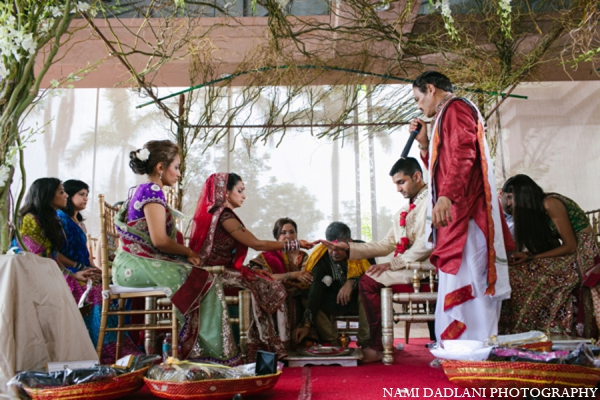 Indian wedding traditional customs in Coral Springs, Florida Indian Wedding by Nami Dadlani Photography