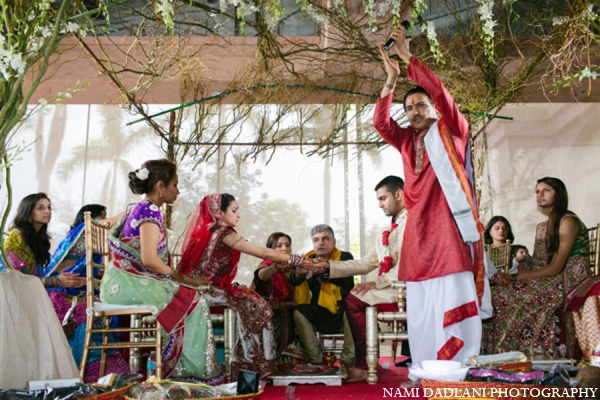 Indian wedding traditions in Coral Springs, Florida Indian Wedding by Nami Dadlani Photography
