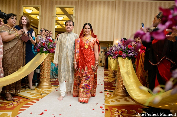 Indian wedding bride ceremony hindu in Wilmington, Delaware Indian Wedding by One Perfect Moment