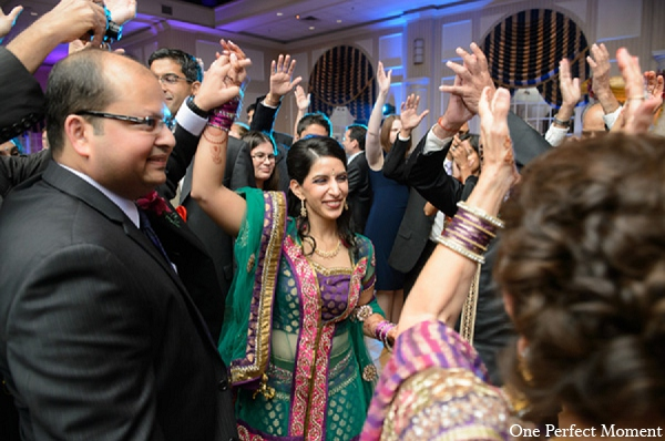 Indian wedding bride groom reception in Wilmington, Delaware Indian Wedding by One Perfect Moment
