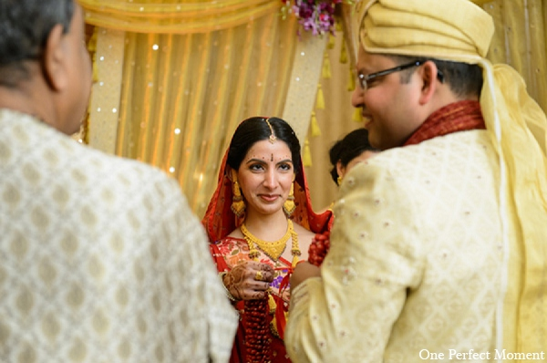 Indian wedding ceremony bride photography in Wilmington, Delaware Indian Wedding by One Perfect Moment