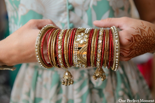 Indian wedding jewelry fashion bride in Wilmington, Delaware Indian Wedding by One Perfect Moment