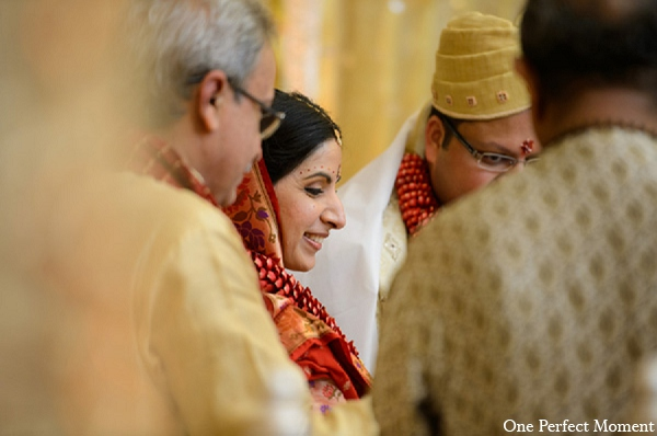 Indian wedding photography bride ceremony in Wilmington, Delaware Indian Wedding by One Perfect Moment