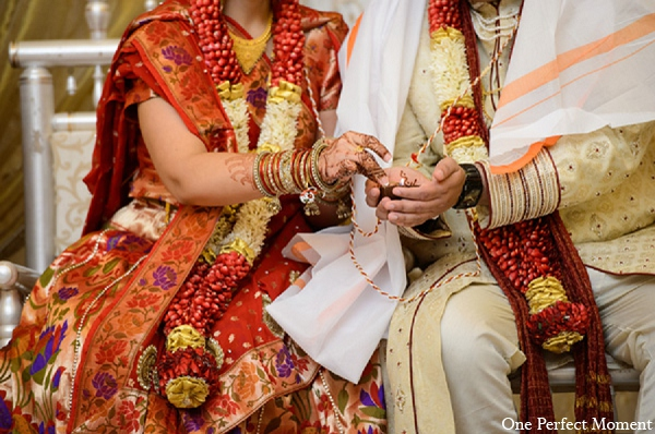 Indian wedding tradition hindu ceremony in Wilmington, Delaware Indian Wedding by One Perfect Moment
