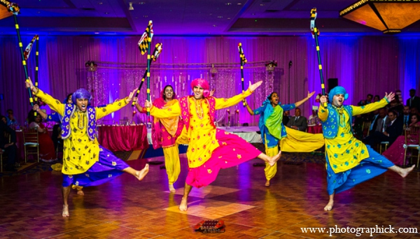 Indian wedding bollywood dancers in Chantilly, VA Indian Wedding by Photographick Studios