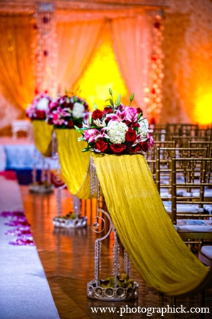 Indian wedding ceremony floral in Chantilly, VA Indian Wedding by Photographick Studios