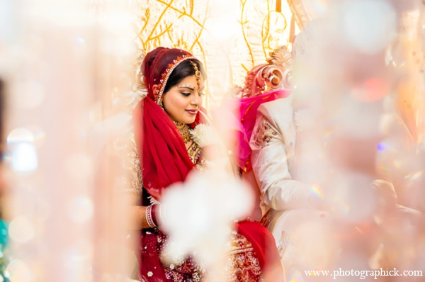 Indian wedding ceremony mandap in Chantilly, VA Indian Wedding by Photographick Studios