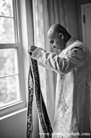 Indian wedding groom outfit in Chantilly, VA Indian Wedding by Photographick Studios