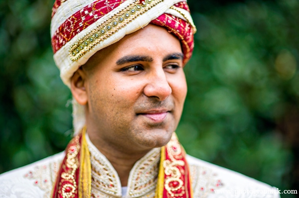 Indian wedding groom in Chantilly, VA Indian Wedding by Photographick Studios