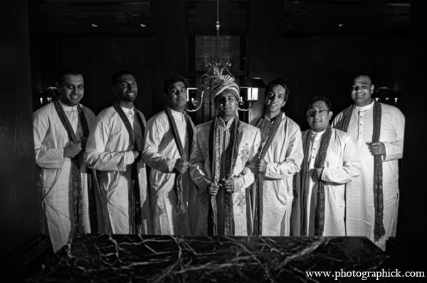 Indian wedding groomsmen in Chantilly, VA Indian Wedding by Photographick Studios