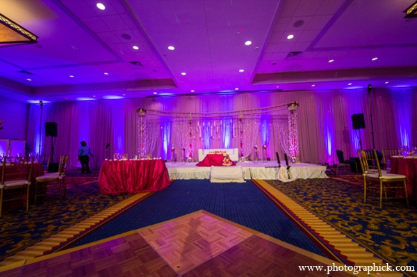 Indian wedding reception planner in Chantilly, VA Indian Wedding by Photographick Studios
