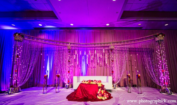 Indian wedding reception venues in Chantilly, VA Indian Wedding by Photographick Studios