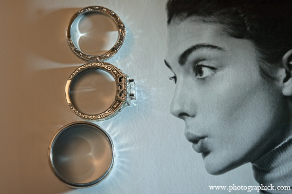 Indian wedding rings in Chantilly, VA Indian Wedding by Photographick Studios