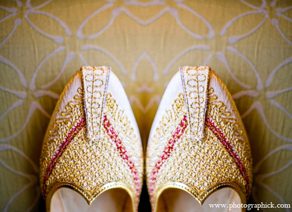 Indian wedding shoes in Chantilly, VA Indian Wedding by Photographick Studios