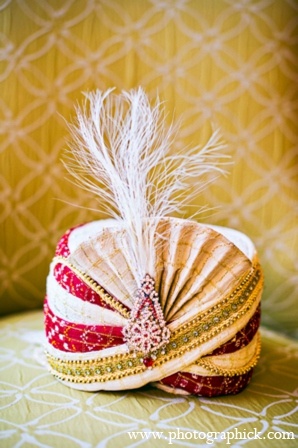 Indian wedding sikh turban in Chantilly, VA Indian Wedding by Photographick Studios