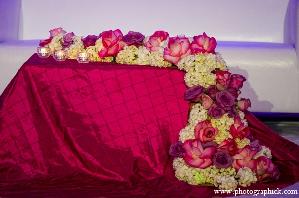 Indian wedding stage in Chantilly, VA Indian Wedding by Photographick Studios
