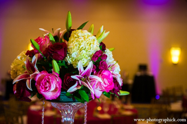 Wedding floral detail in Chantilly, VA Indian Wedding by Photographick Studios