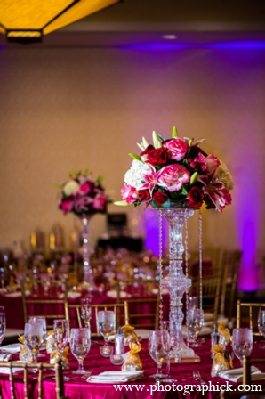 Wedding table design in Chantilly, VA Indian Wedding by Photographick Studios
