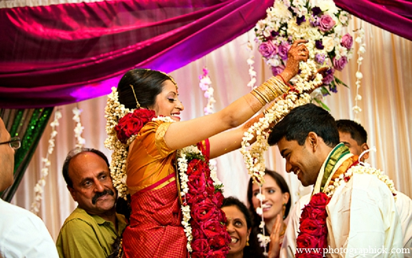 Indian wedding bride groom ceremony in Washington, DC Indian Wedding by Photographick Studios
