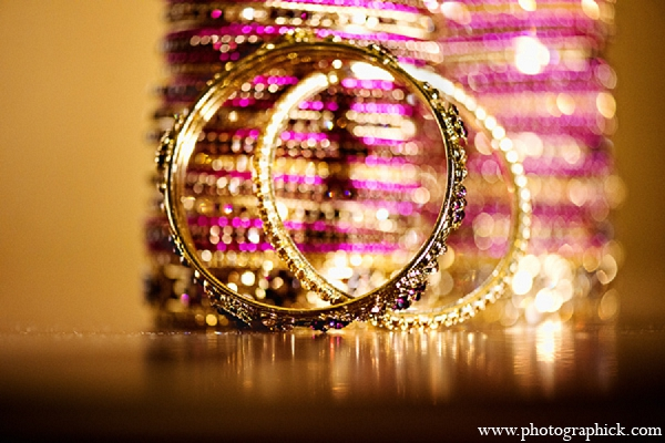 Indian wedding bride jewelry bangles churiya in Washington, DC Indian Wedding by Photographick Studios