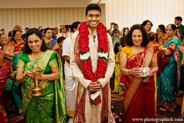 Indian wedding ceremony groom hindu in Washington, DC Indian Wedding by Photographick Studios