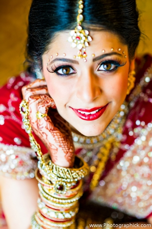 Indian-wedding-bridal-makeup-gold-bangles