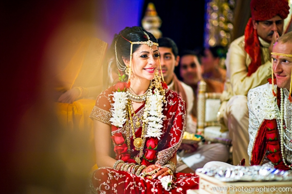 Indian-wedding-bride-at-ceremony-fusion-couple