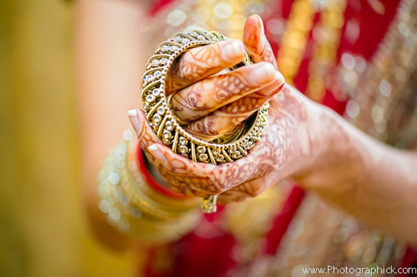 Indian-wedding-bride-bangles-henna-getting-ready
