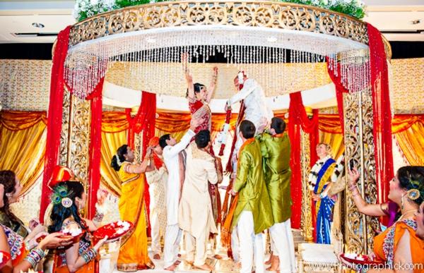Indian-wedding-bride-groom-tradtional-customs-mandap